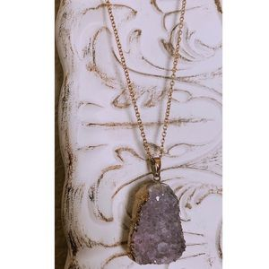 Jewelry - Amethyst Gemstone Necklace